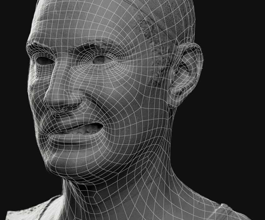 Retopology of a 3D scan by Scan Engine